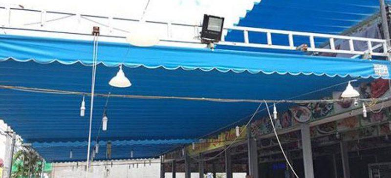 Lắp Đặt Mái Che Di Động Tại Hải Phòng, Bạt Kéo Mái Hiên Che Nắng ở Hải Phòng