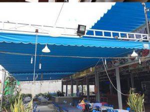 Làm mái hiên quay tay, mái xếp, mái vòm, mái hiên chữ A, bạt che nắng, dù lệch tâm tại Cầu Giấy, Hà Nội