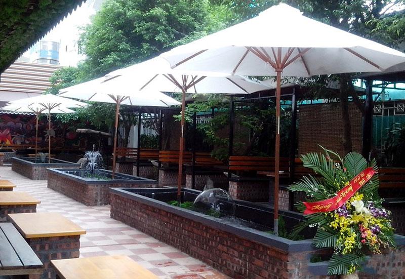 TOP 4 Quán Cafe Có Dù Che Nắng Lãng Mạn